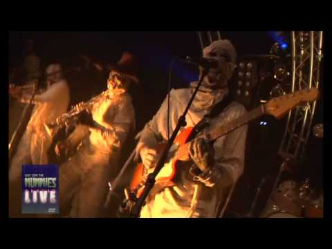 OH ZONE by HERE COME THE MUMMIES - HD from UNDEAD LIVE DVD