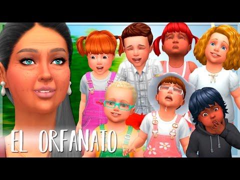 ¡CARRERA DE INFANTES!   EL ORFANATO   Los Sims 4 —  Parte 1