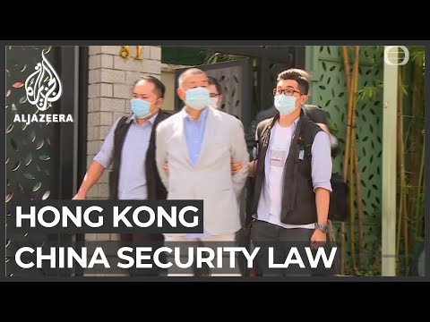 Hong Kong media tycoon arrested under new security law