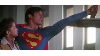 Superman saves Lois and helicopter | Superman (1978)