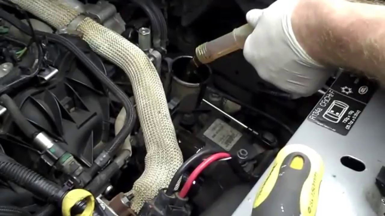 How To Change The Oil Filter On Land Rover Freelander 2  Black Bedroom Furniture Sets  Home