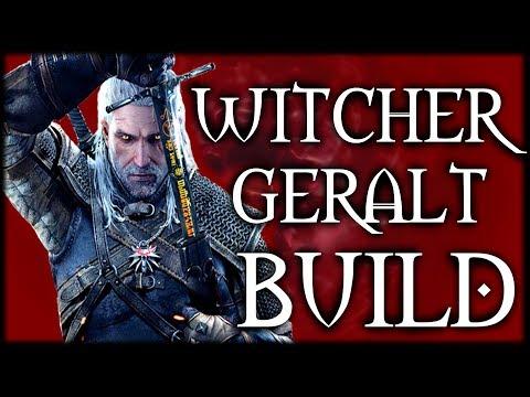 Skyrim SE Builds - The Witcher Build - Geralt of Rivia Modded Build