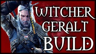 Skyrim SE Builds - The Witcher Build - Geralt of Rivia Modded Build