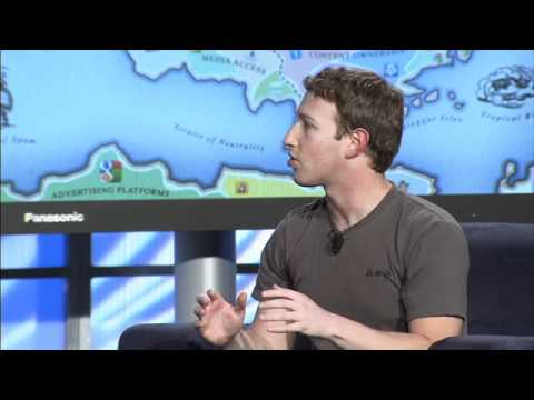 "Mark Zuckerberg, ""A Conversation with Mark Zuckerberg"" - Web 2.0 Summit 2010"