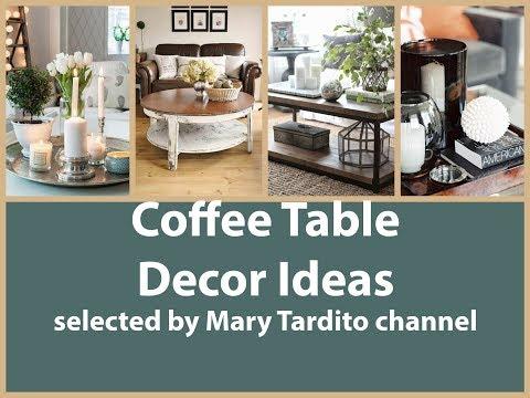 Beautiful Coffee Table Decor Ideas