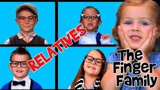 The Finger Family Song | Grandpa and Grandma | Finger Family Relatives