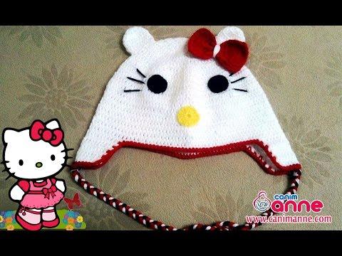 Hello Kitty Şapka Örülüşü , Canım Anne