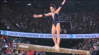 Claire Martin Championnat d'Europe GYM Montpellier 19/04/15