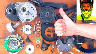 Bafang BBS02 - Timelapse Servicing / Repairing Video • 8fun 750w 48v mid drive Electric Bike ebike