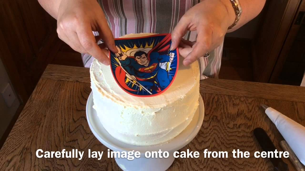 Using an Edible Icing Image