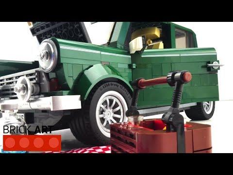 Lego Mini Cooper 10242 Fast Build in 4k