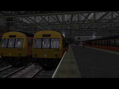 Train Simulator 2017   Class 101 DMU   Glasgow Central to Motherwell