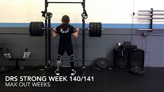 DRS Strong Week 140/141: Maxing Out