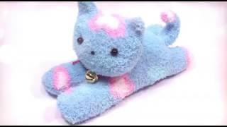 Как сделать из носка котенока