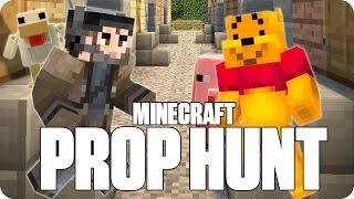 ¡EL AMO DEL DISFRAZ! PROP HUNT | Minecraft Con Luh