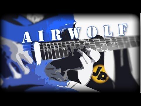 Sylvester Levay - Airwolf Theme (Guitars, Bass & Drum) (MrDyzzoink)