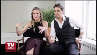 Shantel VanSanten and Diogo Morgado  TV Guide