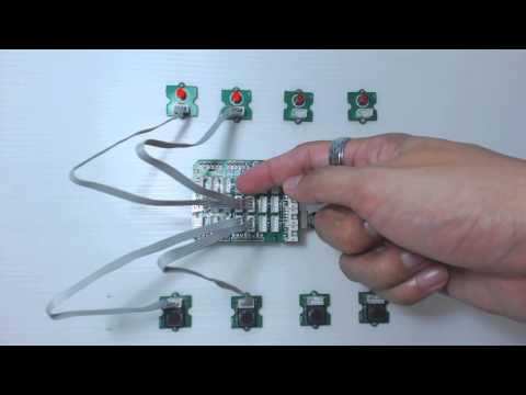 การเขียนโปรแกรม Arduino UNO R3 รับสัญญาณอินพุต Switch
