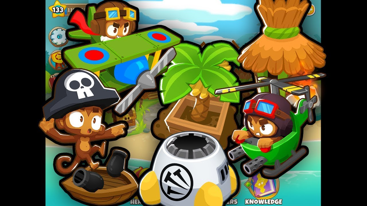BTD6 - Crosspathing Towers Commentary (Part 2, Military & Support)