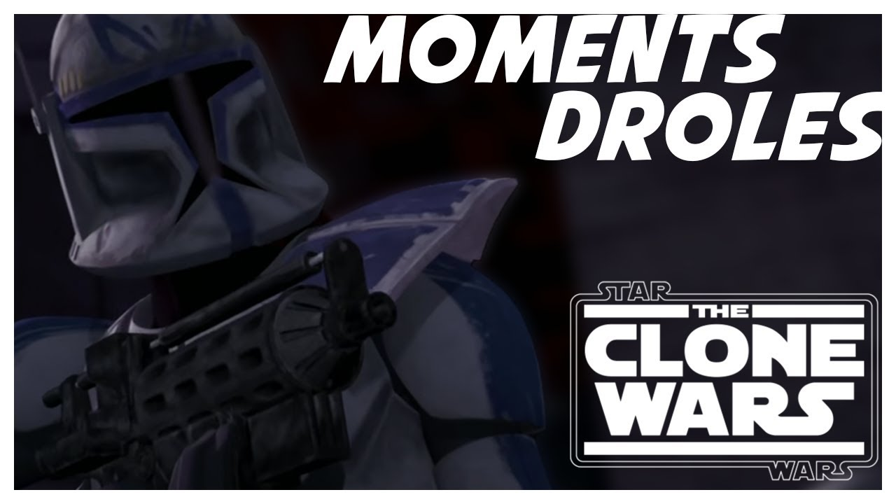 The Clone Wars Les Moments Droles 01 Youtube
