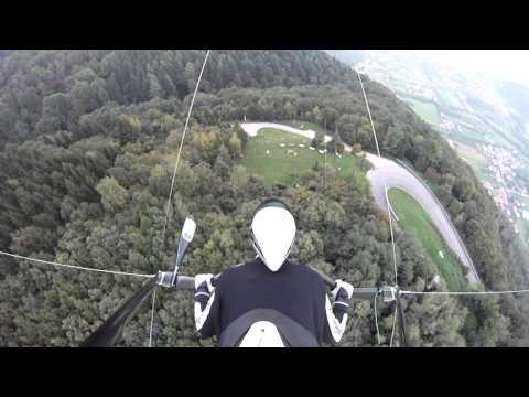 Oktober in Bassano - Drachenfliegen