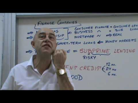 Financial Markets and Institutions - Lecture 39