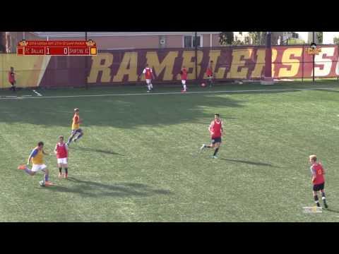 2016 Loyola ID Camp FC Dallas vs Sporting KC (Jordan #48)