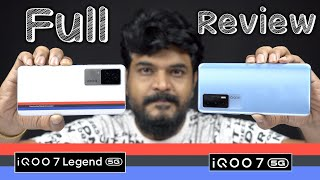 iQOO 7 5G / iQOO 7 Legend 5G In- Depth Review || In Telugu ||