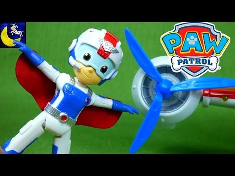 New Paw Patrol Air Rescue Ryder Toys Zuma Wally Rescue Playset