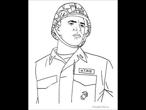 Thank You Veterans Day Coloring Pages, Sheets for 2nd, 1st