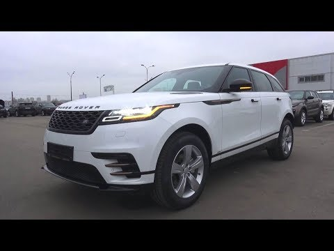 2017 Land Rover Range Rover Velar. Start Up, Engine, and In Depth Tour.