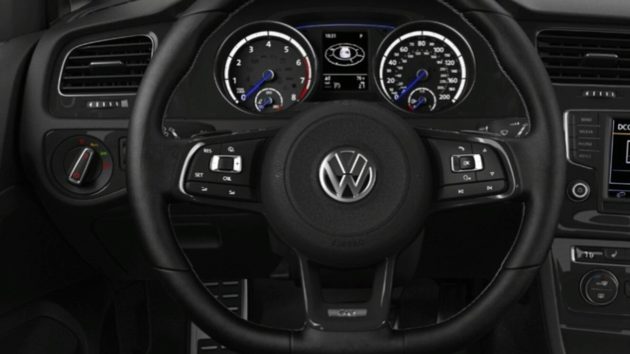 2017 volkswagen golf r interior youtube. Black Bedroom Furniture Sets. Home Design Ideas