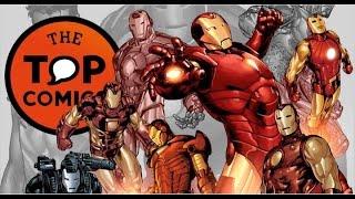 Las diferentes armaduras de Iron Man