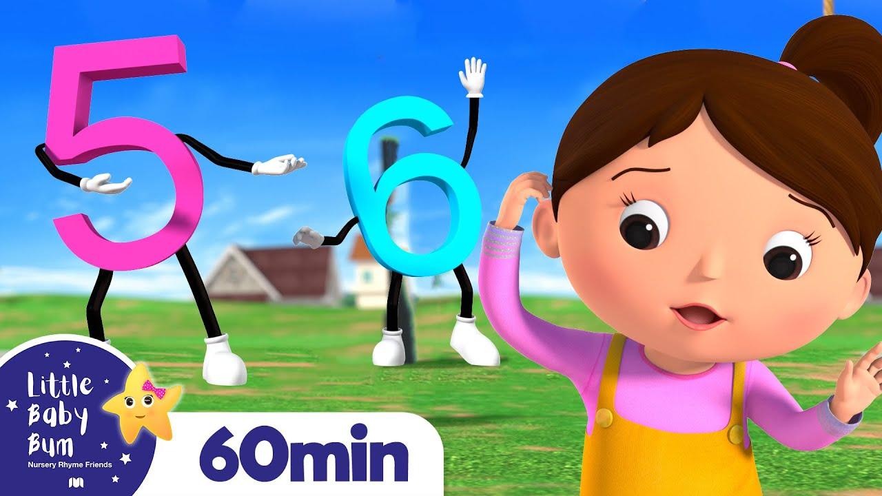 Ten Little Numbers +More Nursery Rhymes and Kids Songs | Little Baby Bum