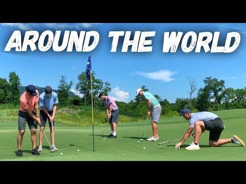 Around The World Putting Challenge (Feat: GM Golf & Zac Radford)