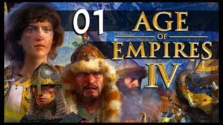 AGE OF EMPIRES IV: Dİe Kampagne | Let's Play (01) [Deutsch]