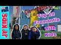 Fremantle  - Top 10 FUN things with Kids (Season 1 - Day 3 Western Australia)