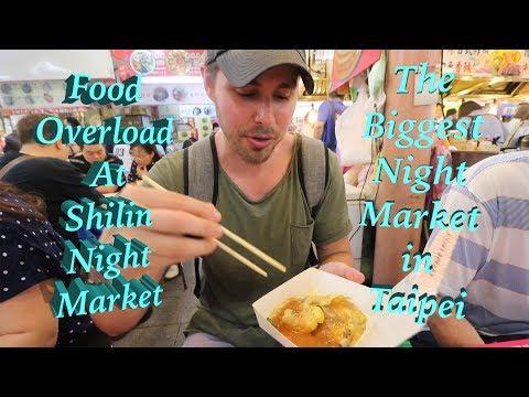 LEGENDARY Shilin Night Market - An OVERLOAD of FOOD!!!