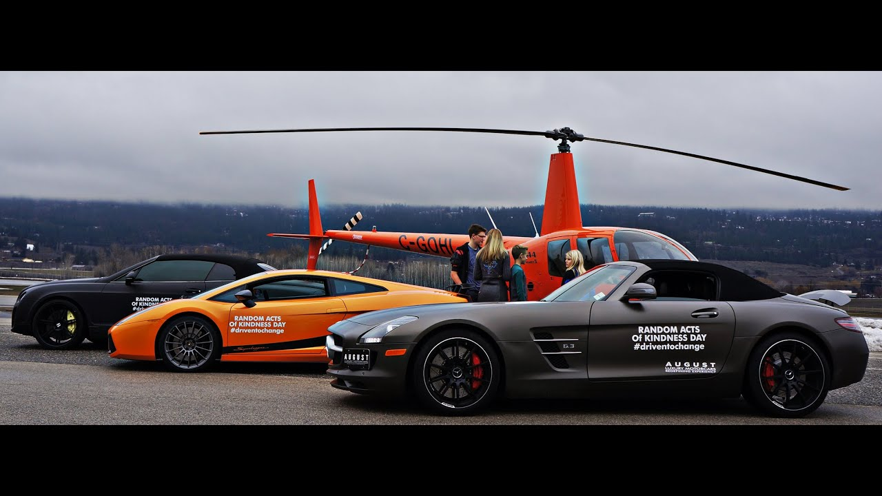 We Took Deserving Kids For Rides In Supercars For National