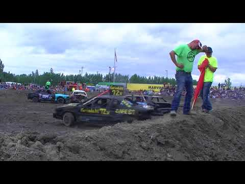 Roseau County Fair 2018 Small Car Heat