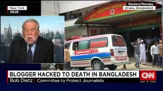 live cnn-Secular Bangladeshi writer Nazimuddin Samad killed-CNN Live