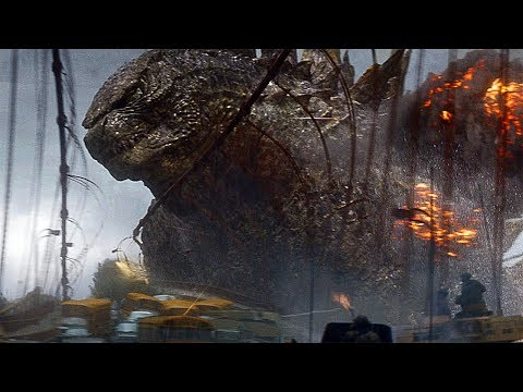 Godzilla vs Golden Gate Bridge Scene  Godzilla 2014 Movie Clip HD