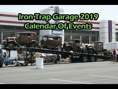 Iron Trap Garage 2019 Calendar