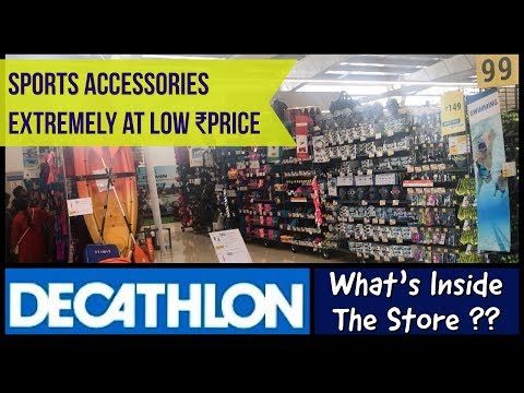 Buy Sports Accessories At Low ₹Price | Decathlon Chennai | 2019