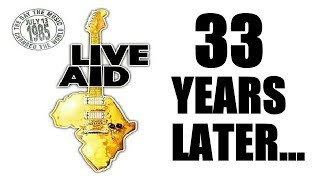 Remembering Live Aid ... A Vintage 80's Going Away Party?