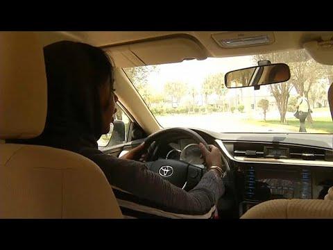 شاهد: المرأة السعودية تستعد - لليوم التاريخي-  لقيادة السيارة في المملكة…  - 16:21-2018 / 6 / 19