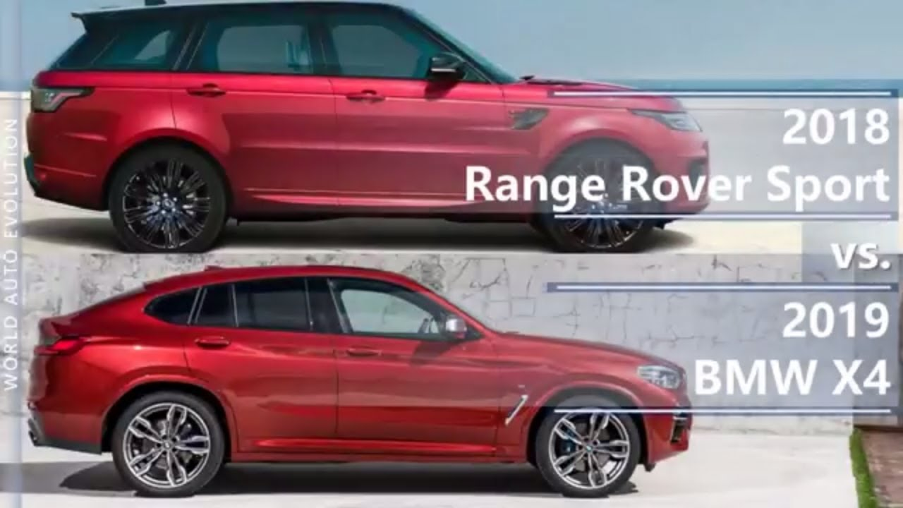 2018 range rover sport vs 2019 bmw x4 technical comparison youtube. Black Bedroom Furniture Sets. Home Design Ideas