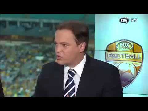 Mark Bosnich half time socceroos out burst against oman