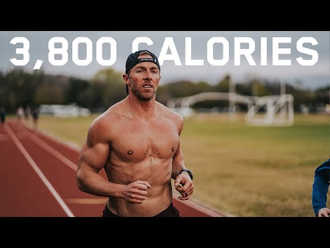Everything I Eat In A Day | 3,800 Calorie Ironman Diet