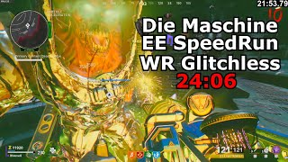 Die Maschine Solo Easter Egg Speed Run World Record Glitchless 24:06